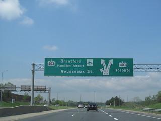 Lincoln M. Alexander Parkway - Hamilton, Ontario