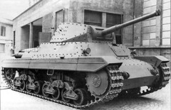 """Heavy"" (indeedly medium) tank Carro Armato Pesante P26/40."