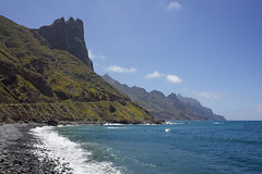 North Coast of Tenerife as seen from Taganana Beach (Carlos Martn Daz) Tags: sea tenerife atlanticocean canaryislands islascanarias northcoast ocanoatlntico anaga taganana