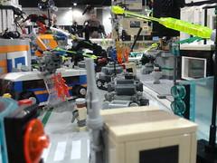 MFZ Warzone @ Denver Comic Con 06 (FragsturBait) Tags: mobile lego frame zero mecha mechaton mfz mobileframezero