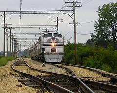Silver Pilot (Train-Kid-1996 (Appropriate comments pls)) Tags: union e5 burlingtonroute emd irm illinoisrailwaymuseum unionillinois cbq chicagoburlingtonandquincy silverpilot emde5 9911a
