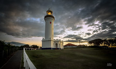 Norah Head Lighthouse (Mike Hankey.) Tags: sunset lighthouse centralcoast norahhead focus14 publishedlandscape