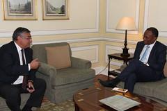 Pedro Passos Coelho recebe Presidente do MpD
