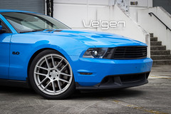 Ford Mustang GT Velgen Wheels VMB6 Matte Silver 20x9 & 20x10.5 (VelgenWheels) Tags: blue usa canada cars ford yahoo google sweden russia performance automotive pony shelby mustang custom bing exhaust svt grabber gt500 velgen merica illest mustangweek felgn velgenwheels vmb6