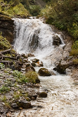 Stierlochbach Falls (Andrew Coombes) Tags: alps austria autumn holiday landscape mountains stierlochbach waterfalls zug