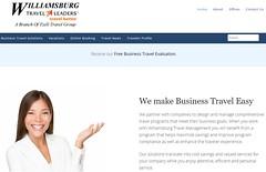 Website for Williamsburg Travel Leaders (javajoba) Tags: wordpress website studiopress genesistheme yoast gravityforms webdesign