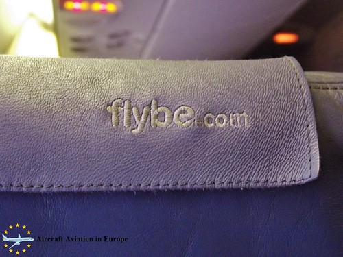 Flybe logo G-ECOE - UK Airspace
