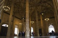 (IlPoliedrico) Tags: valencia spain spagna travelling wander llotjadelaseda gothic building architecture unesco architettura gotico