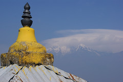 Annapurna Mountain Range. (Eden Bhatta) Tags: mountain annapurna pokhara nepal landscape