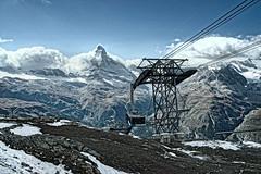 Bergbahn (Parcivall) Tags: schweiz suisse matterhorn zermatt rothorn