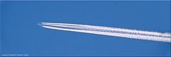 """""""Volldampf"""" - """"full steam"""" (Jorbasa) Tags: volldampf flugzeug flight himmel sky schweif wasserdampf jorbasa hessen wetterau germany deutschland plane airplane tail steam"""