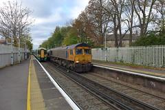 66730 'Whitemoor', Gipsy Hill (looper23) Tags: 66730 3w90 class 66 gipsy hill rhtt london rail railway train november 2016