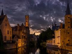 Bruges, Belgium (802701) Tags: bruges brugge belgium nightphoto nightshot nightphotography oldtown sunset olympus