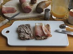 Leberwurst und Schinkenspeck auf Oldenburger Vollkornbrot (multipel_bleiben) Tags: essen frhstck typischdeutsch