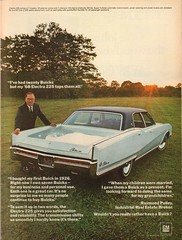 1968 Buick Electra 225 Advertisement Time Magazine December 8 1967 (SenseiAlan) Tags: 1968 buick electra 225 advertisement time magazine december 8 1967