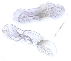 motocicleta a lpiz (ivanutrera) Tags: draw dibujo drawing dibujoalpiz lapiz lpiz sketch sketching motocicleta moto motorcycle