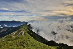 ~~ Clouds Sunset (Shang-fu Dai) Tags:  taiwan   3416m 3417m  clouds sunset mthehuan nikon d800e afs1635mmf4  landscape formosa