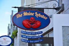 The Maine Lobster (keyphan06) Tags: newengland 2016 maine barharbor streetscenes
