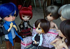 """Experincias"" (4/6) (Bell) Tags: taeyang kaito richt suzumura rei william isul mao arkell vincentin dante silber travis romanov vincent hermann groove dolls saemon van scarlett pullip lunatic queen romantic alice monochrome"