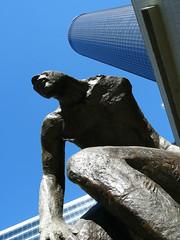 Emerging (dmvcomics) Tags: atlanta georgia downtown emerging statue westin peachtree plaza