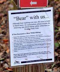 BearWithUs (T's PL) Tags: nikon tamron 16300 f3563 di ii vc pzd bearwithus d7000 douthatstatepark nikond7000 outdoor sign text va virginia nikontamron tamronnikon tamron16300f3563diiivcpzd tamron16300
