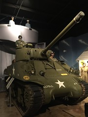 Rolling off the Normandy beaches (st_asaph) Tags: largo armedforceshistorymuseum shermantank m4 sherman tank dday