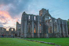 Fountains Abbey at Night (jillyspoon) Tags: trust night floodlit monks october autumn canon70d canon northyorkshire north yorkshire fountains fountainsabbey nationaltrust event evening sunset visitorattraction tourism visit history