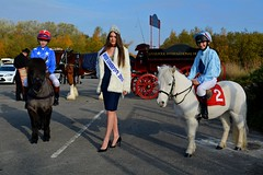 Ms Louella Walker, Miss Liverpool and 2 young riders (napoleon666uk) Tags: liverpool international horse festival liverpoolinternationalhorsefestival horseshow echoarena animal parade louellawalker