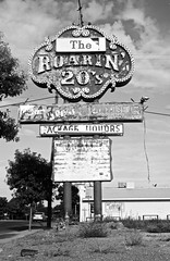 Old Route 66 @Grants - Zeiss Super Ikonta C (annelaurem) Tags: ilford zeisssuperikontac newmexico nm usa america blackandwhite filmcamera analogphotography route66 grants sign analog film pellicule argentique collection vintage old camera 6x9 120 fp4 160iso antique souvenir past bw nb pass antiquit ancien analogique panneau travel holidays vacances voyage amrique 125iso