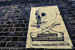 crossbones (drjacquebaxter) Tags: crossbones skull paupers history prostitution hypocracy winchestergeese women female halloween all hallows sam samhain