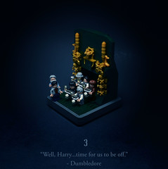03 - Will and Won't (Melan-E) Tags: harry potter rowling half blood prince magic magical ministry lego afol torolug toronto journey