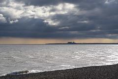 Sizewell B (sarah_presh) Tags: sizewell sizewellb nuclear power station suffolk coast weather cloud beach