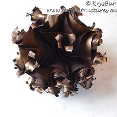 Desperation  (K16035) (Origami Spirals) Tags: curler twirl spiral fold paper burczyk origami folding art krysbur
