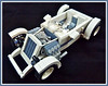 '32 Custom GAZ...Cosmonaut (Lino M) Tags: russia russian soviet hot rod car ford gaz 1932 32 roadster space rover lunar moon custom white sand blue lego lino martins lugnuts deuces wild deuce cosmonaut