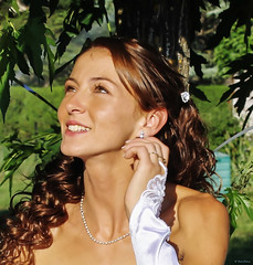 mariage (Kaya.05) Tags: mariage mariée portrait été lumièrenaturelle wedding casada justmarried sun sole summer verano retrato nuturallight
