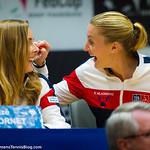 Alize Cornet, Kristina Mladenovic