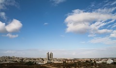 An Hour Before the Storm... (Ivona & Eli) Tags: landscape blue cloud sky israel cityscape modiin
