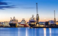 Harbour-Blue.jpg (___INFINITY___) Tags: 2016 6d aberdeen harbour blue boatcrane canon darrenwright dazza1040 eos infinity longexposure scotland sea ship explore explored