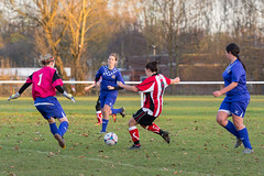 Altrincham LFC vs Stockport County LFC - December 2016-151 (MichaelRipleyPhotography) Tags: altrincham altrinchamfc altrinchamlfc altrinchamladies alty amateur ball community fans football footy header kick ladies ladiesfootball league merseyvalley nwrl nwrldivsion1south nonleague pass pitch referee robins shoot shot soccer stockportcountylfc stockportcountyladies supporters tackle team womensfootball