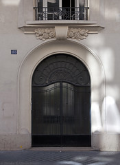 Paris: Art Deco for the working class (I) (*skiagraphia) Tags: paris france 18earrondissement quartierdesgrandescarrires ruechampionnet architecture interwararchitecture 20thcentury 1920s artdeco 1929 mmontadon durand fmouly