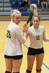 IMG_7843 (SJH Foto) Tags: girls volleyball high school york delone catholic team teen teenager substitution sub rotation