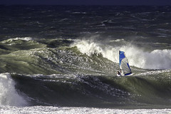 windsurfing the storm (Danny Bastiaanse) Tags: windsurfing storm domburg netherlands northsea