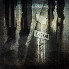EXIT (Saritaku) Tags: textures iphoneography iphone mextures superimpose snapseed exit