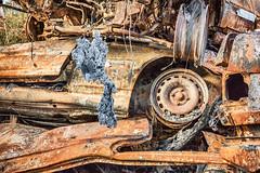 Ist das ... (Norbert Helbig) Tags: schrott wrack nikon d7200 outdoor auto industrie verkehr fahrzeuge technik automobil