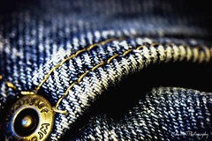Denim stitchesIMG_3973-1 (matwith1Tphotography) Tags: matwith1t canon 100mm wranglers bluejeans macromonday stitches pocket macro macrophotography