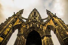 The Scott Monument (Brian Travelling) Tags: sirwalterscott scottmonument princesstreet edinburgh scotland monument pentaxkr pentax pentaxdal waverley