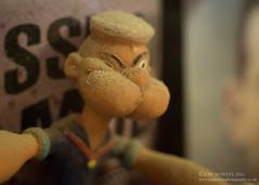 Popeye takes a selfie (Jon Bowles) Tags: figues figurine macro closeup sonya7s tubes extensiontubes adaptedlenses pentax pentaxsmca50mmf14