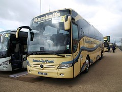 Marshalls PM16JAM MB104 (JBF Photography) Tags: marshalls mb104 pm16jam blackpool mercedes benz tourismo