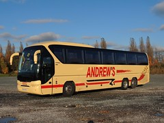 DSCN7838 Andrew's, Tideswell OU14 SRZ (Skillsbus) Tags: buses coaches england derbyshire andrews tideswell neoplan tourlner ou14srz