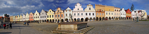 Telc main square